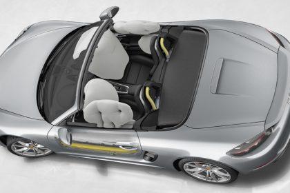 Hệ thống túi khí và Thanh bảo vệ chống va đập bên hông của Porsche (POSIP)