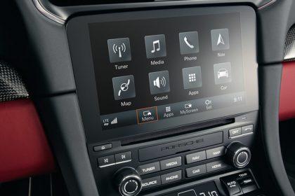 Hệ thống Quản Lý Liên Lạc của Porsche (PCM) hoàn toàn mới