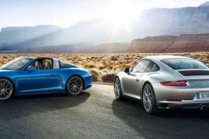 Cùng dòng xe 911, hai phiên bản động cơ