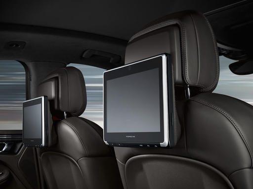 Hệ thống Giải Trí Hàng Ghế Sau Cao Cấp của Porsche