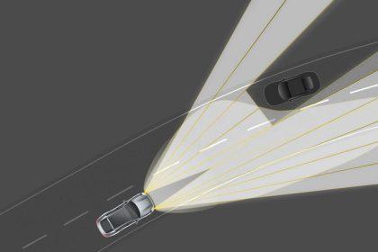 Đèn pha LED với chùm tia ma trận bao gồm hệ thống Đèn năng động cao cấp của Porsche (PDLS Plus)