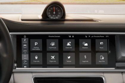 Hệ thống quản lý liên lạc của Porsche (PCM) bao gồm dẫn đường tực tuyến