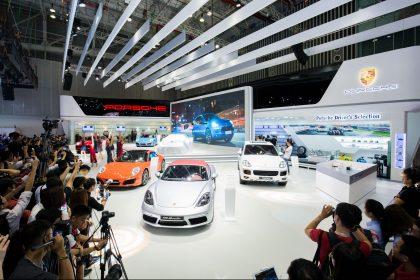 Porsche tại triển lãm Ô Tô Quốc Tế Việt Nam 2016
