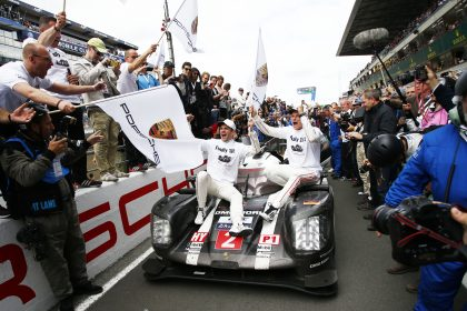 Porsche Team: Romain Dumas, Marc Lieb (l-r)