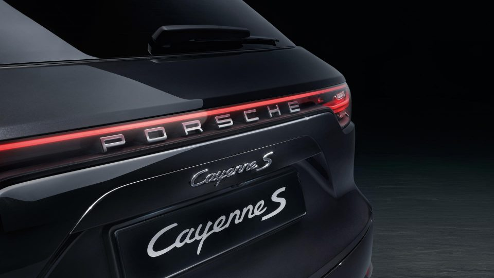 Cayenne S mới