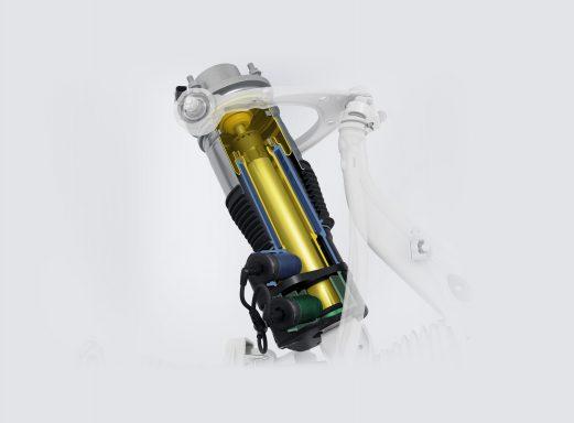 Hệ thống treo khí nén chủ động